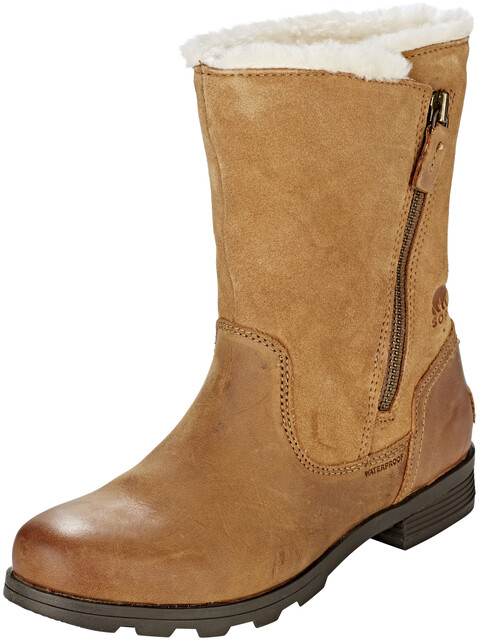 Sorel Emelie Foldover Boots Women Camel Brown